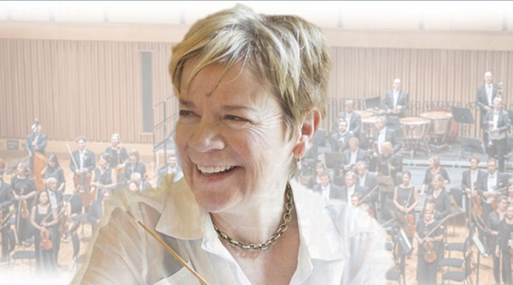 Belshazzar's Feast with the London Philharmonic Orchestra conducted by Marin Alsop