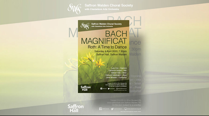 Bach Magnificat with Roth A Time to Dance - CANCELLED