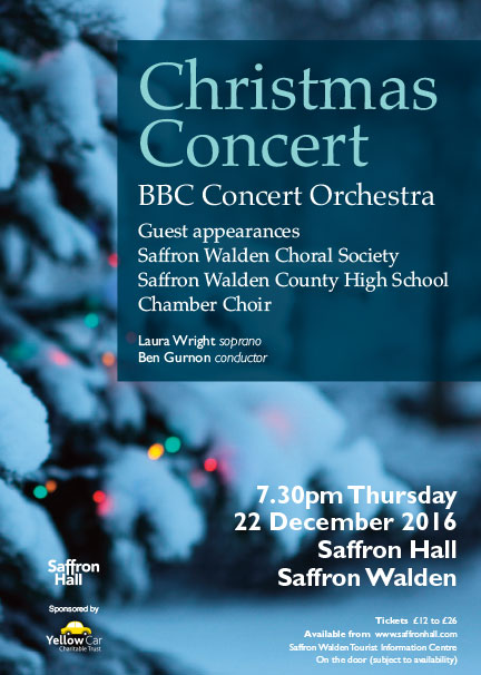 Christmas Concert with the BBC Concert Orchestra Poster