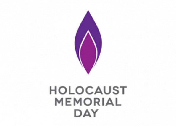 Holocaust Memorial Day Service Poster