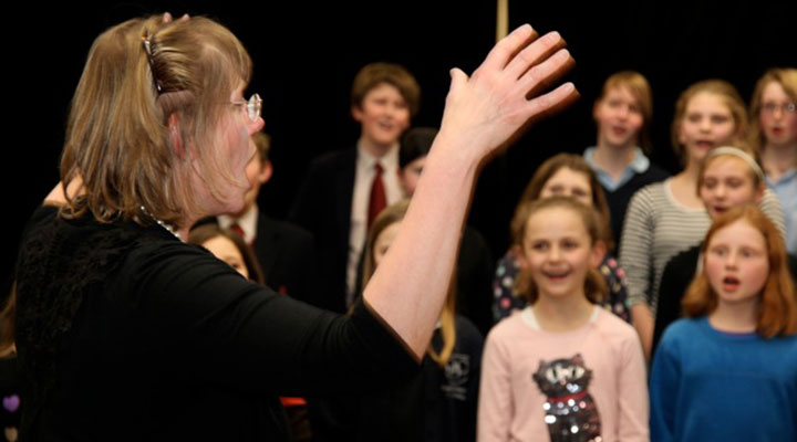 Musical training provided by SignuptoSing, Saffron Walden youth choir